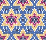 Vector seamless mosaic ornaments Royalty Free Stock Photos