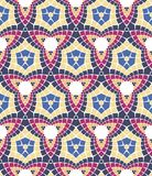Vector seamless mosaic ornaments Stock Image