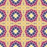 Vector seamless mosaic ornaments Royalty Free Stock Photography