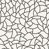 Vector seamless mosaic pattern of polygonal Royalty Free Stock Image