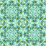 Vector Seamless Mosaic Pattern Stock Images