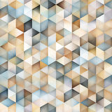 Vector Seamless Multicolor Gradient Triangle Shape Grid Geometric Pattern Stock Photography