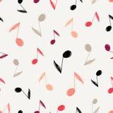 Vector Seamless Music Pattern vector illustration