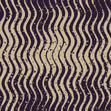 Vector Seamless Navy Grey Color Hand Drawn Rough Wavy Lines Retro Grunge Pattern. Abstract Background Royalty Free Stock Image