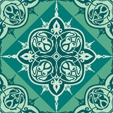 Vector seamless oriental pattern. Vector illustration arabic style seamless ornament Royalty Free Stock Images