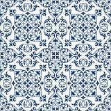 Vector seamless ornate oriental tile pattern. Seamless patchwork pattern from ornate tiles, ornaments. Can be used for wallpaper, pattern fills, web page Stock Photos