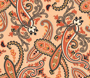 Vector. Seamless paisley background Royalty Free Stock Image