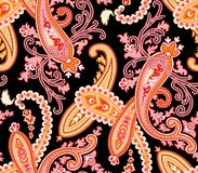 Vector. Seamless paisley pattern Stock Image