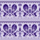Vector seamless paisley pattern Stock Image