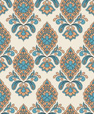 Vector Seamless Paisley Pattern Royalty Free Stock Photos