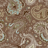 Vector seamless Paisley pattern Royalty Free Stock Photography