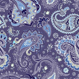 Vector seamless Paisley pattern Royalty Free Stock Images
