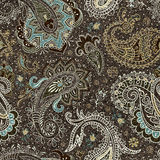 Vector seamless Paisley pattern Stock Photography