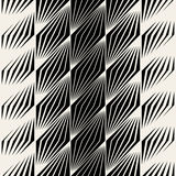 Vector Seamless Parallelogram Halftone Oblique Lines Pattern Stock Photos
