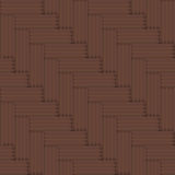 Vector seamless parquet floor retro pattern - simp Royalty Free Stock Image