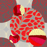 Vector seamless patchwork pattern. oriental design Stock Photo