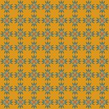 Seamless pattern of abstract stars vector illustration