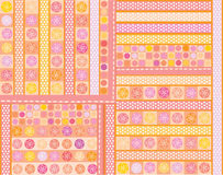 Vector seamless pattern Stock Photos