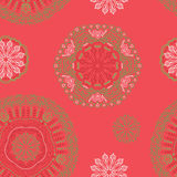 Vector seamless pattern. Royalty Free Stock Photos