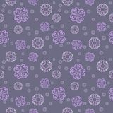 Vector seamless pattern - abstract background. For your design in baroque floral style Stock Images