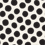 Vector seamless pattern. Abstract background with floral brush strokes. Monochrome hand drawn texture. Vector seamless freehand pattern. Abstract background with royalty free illustration