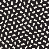 Vector Seamless Pattern. Abstract Background With Scattered Geometric Shapes. Stock Images