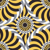 Vector seamless pattern. Abstract background. In yellow, brown and grey tones Royalty Free Stock Photos