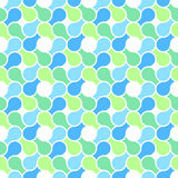 Vector seamless pattern - abstract blue & green pa Royalty Free Stock Image