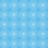 Vector seamless pattern of abstract circle vector illustration