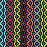 Vector seamless pattern. Abstract colored geometric background Stock Image