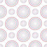 Vector seamless pattern.Abstract Festive design background concept in traditional American colors - red, white, blue. Modern styli. Vector seamless pattern Royalty Free Stock Images