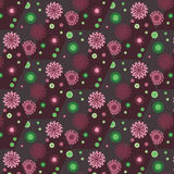 Vector seamless pattern with abstract flowers.Elegant background Royalty Free Stock Photos