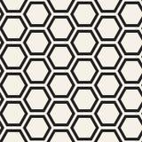 Vector Seamless Pattern. Abstract Geometric Background Design. Stylish Lattice Texturen Royalty Free Stock Images
