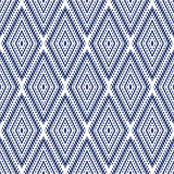 Vector seamless pattern. Abstract geometric background illustration, fabric textile pattern Stock Photo
