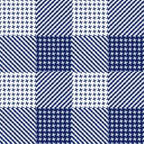 Vector seamless pattern. Abstract geometric background illustration, fabric textile pattern Royalty Free Stock Image