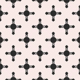 Vector seamless pattern, abstract geometric background with simp Royalty Free Stock Photography