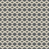 Vector seamless pattern of abstract hexagon stock illustration