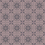 Vector seamless pattern with abstract rosettes Royalty Free Stock Photos