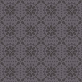 Vector seamless pattern with abstract rosettes Stock Photography