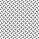 Vector seamless pattern. Abstract shapes texture. Black-and-white background. Monochrome design. royalty free illustration