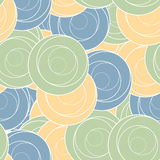 Vector seamless pattern. Abstract stylish Royalty Free Stock Image