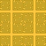 Vector seamless pattern. Abstract stylish Stock Photos