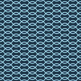 Vector seamless pattern. Abstract stylish background. Wavy regular pattern Royalty Free Stock Image