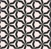 Vector seamless pattern with angular figures. Royalty Free Stock Photography
