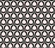 Vector seamless pattern with angular figures, triangular grid Royalty Free Stock Photos