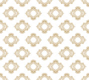 Vector seamless pattern with art ornament for design Royalty Free Stock Photography