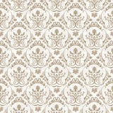 Vector seamless pattern with art ornament for design Royalty Free Stock Photo