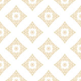 Vector seamless pattern with art ornament for design Royalty Free Stock Photos