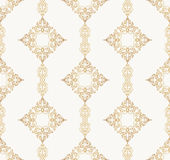 Vector seamless pattern with art ornament for design Stock Photography