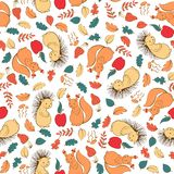 Seamless pattern with kids theme Royalty Free Stock Photography